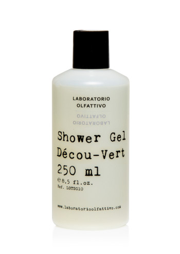 Shower gel decou vert